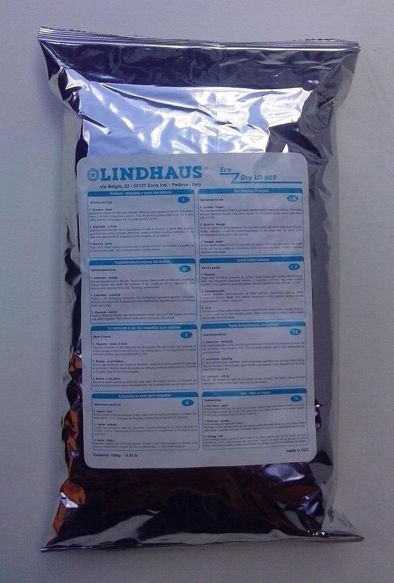 Směs pro suché čištění koberců Lindhaus Eco Dry LD 600