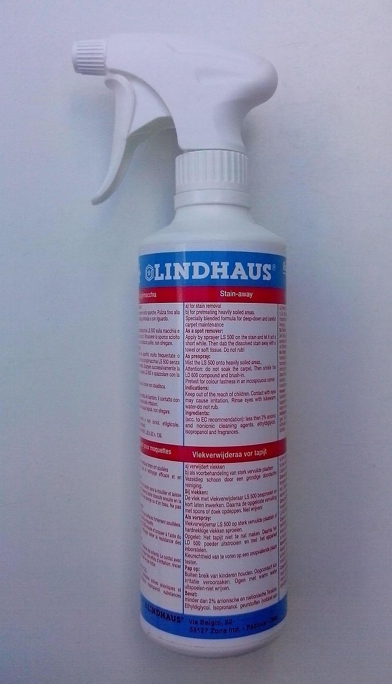 Spray pro předčištění koberců Lindhaus