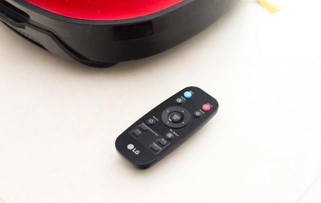 Robotický vysavač LG Hom-Bot VR 62601 LVM - dálkové ovládaní