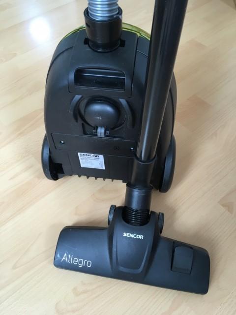Recenze vysavače Sencor Allegro 510GR-EUE2